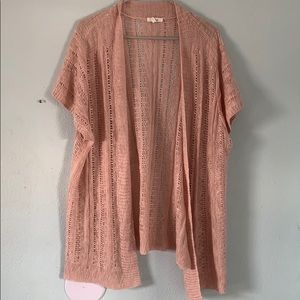 Maurice's Open Front Plus Cardigan